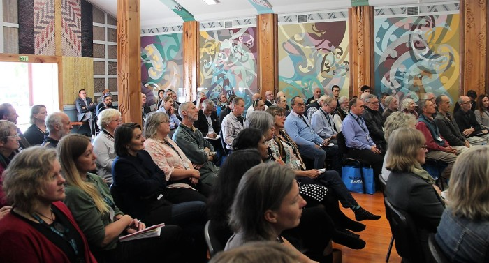 Climate change conference whare hui
