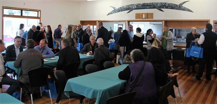 Climate change conference whare kai