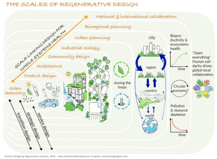 scales of regenerative design