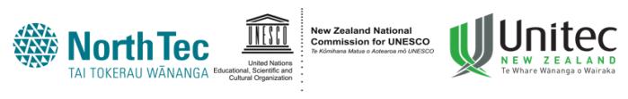 NT UNESCO UNI logos