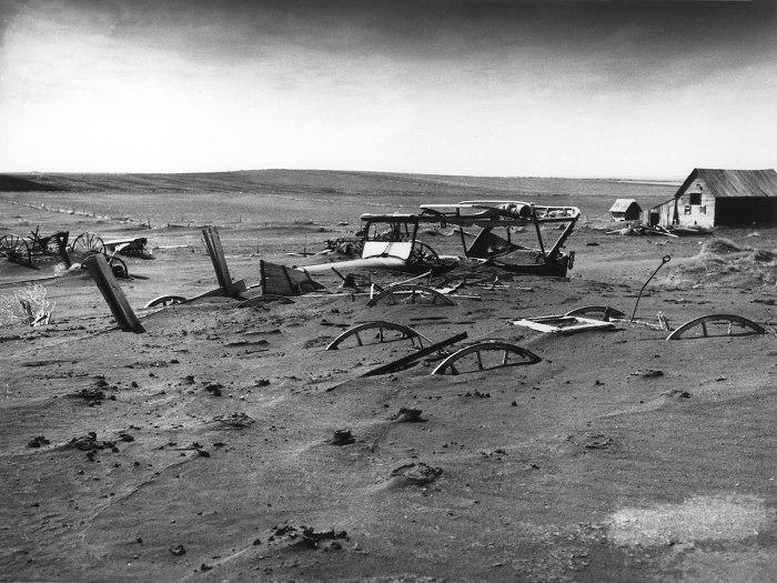 Dust_Bowl South_Dakota_1936